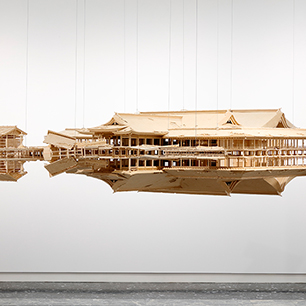 Reflection Model (Ship of Theseus), 2017, cTakahiro Iwasaki, Courtesy of URANO